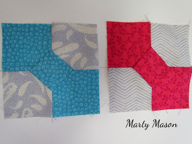 3-Dimensional Bowtie Quilt Blocks by Marty Mason