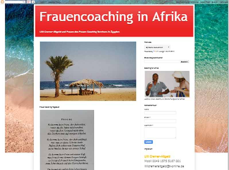 Frauencoaching in Afrika