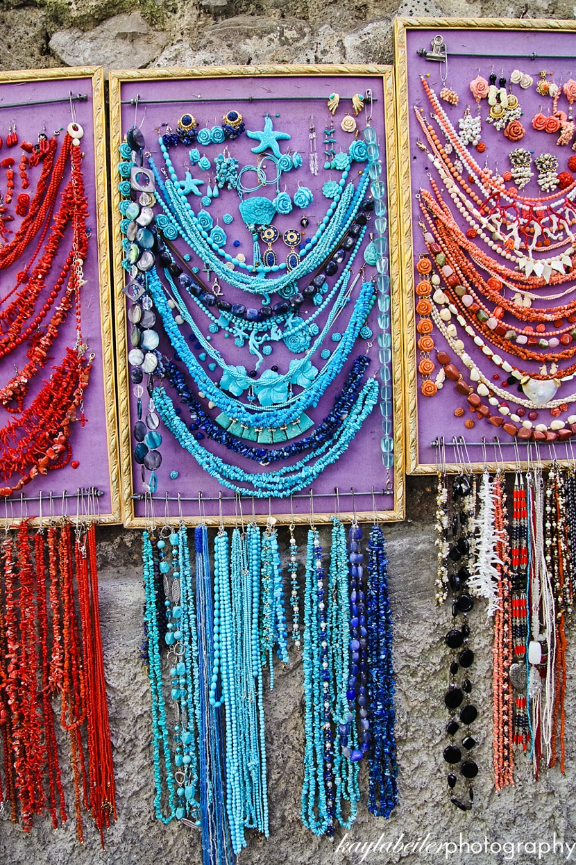 jewelry in positano photo