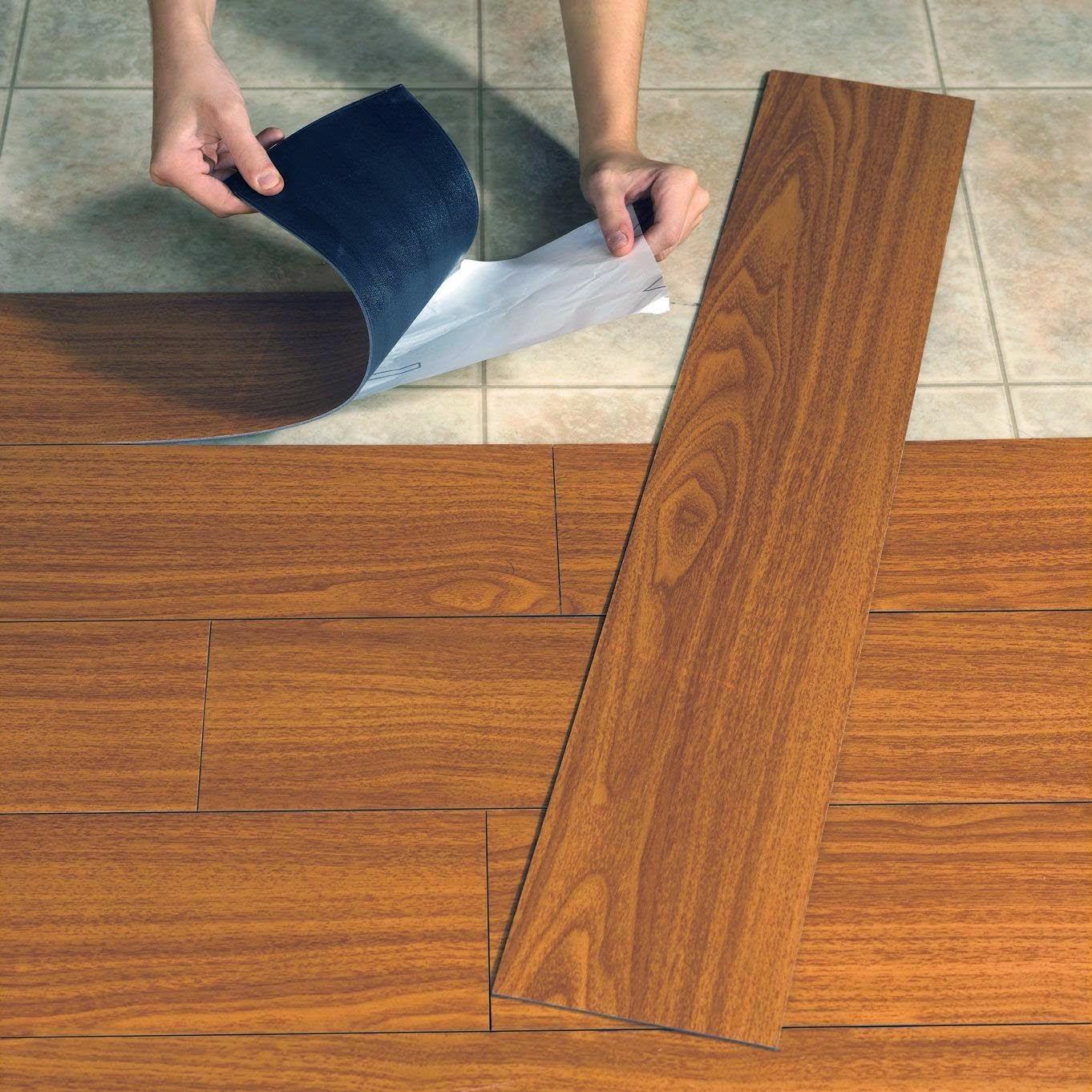 lantai berbahan lentur