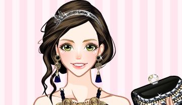 Game thời trang tiệc cưới, chơi game thời trang bạn gái hay online