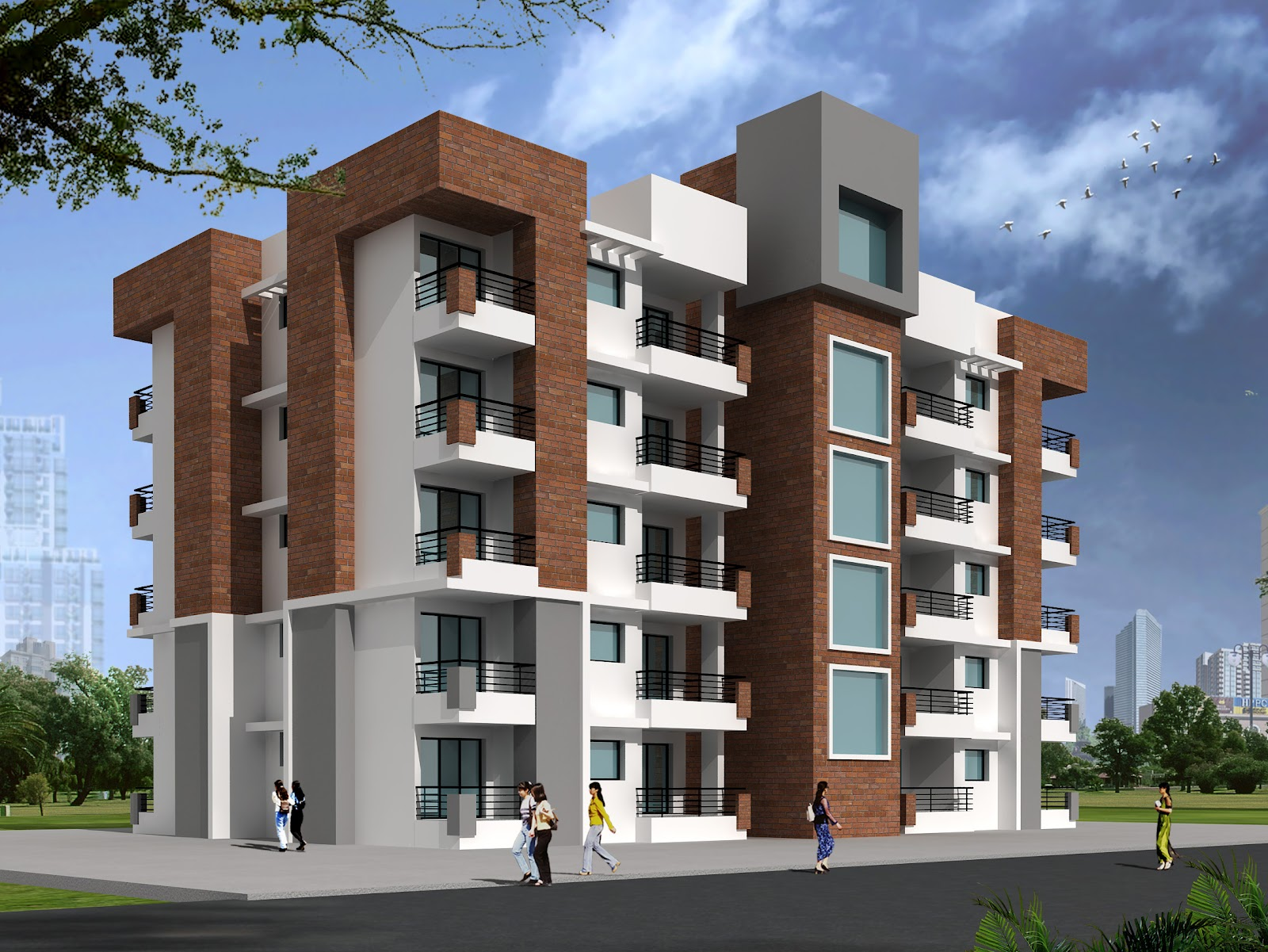Sanidhya design old age home at jaipur Home architecture in jaipur