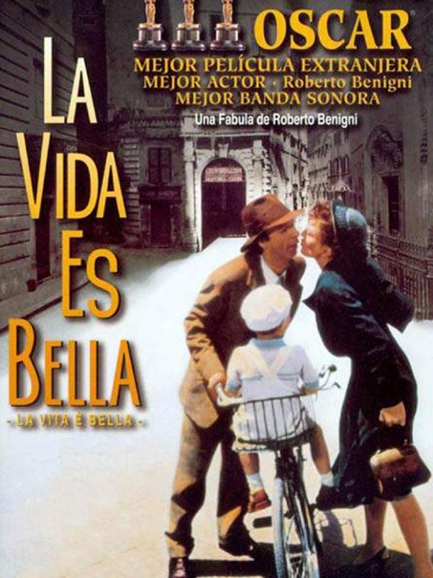 'La vida es bella', de Roberto Benigni, es el Hitos del cine de Making Of esta semana