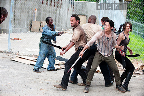 The Walking Dead Season 4 exclusive picture
