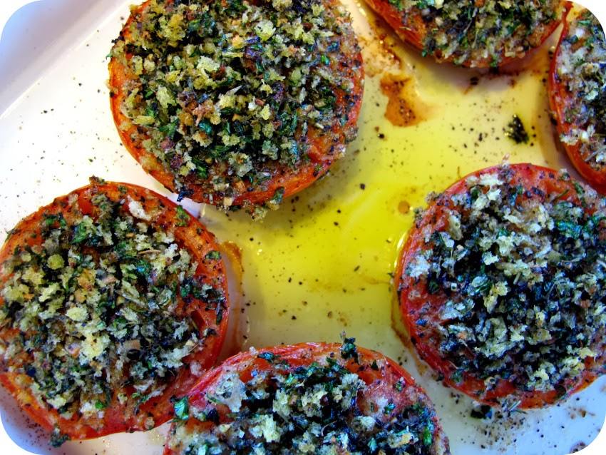 Tomatoes Provencal Recipe — Dishmaps