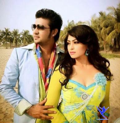 BD Movie Actress Sadika Parvin Popy with Nirob