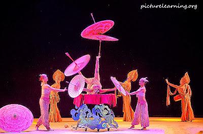 Chaoyang Acrobatic Show Umbrella Balance