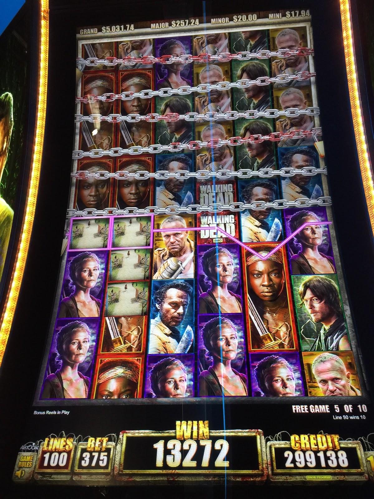 The walking dead slot machine big win poker games types