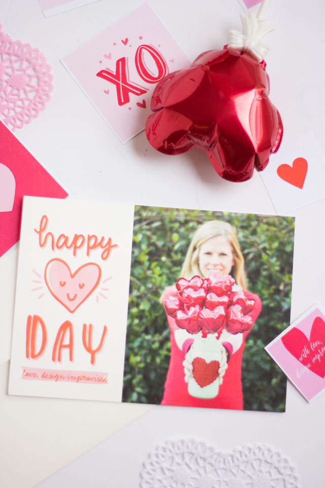 Design Improvised Valentine Cards with Minted