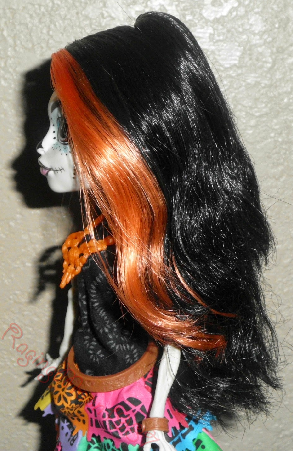 Orange Highlights In Black Hair - Hairs Picture Gallery