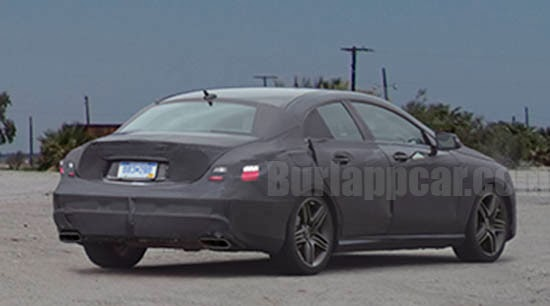 mercedes eclass spy spyshots sedan 2016 2017 car