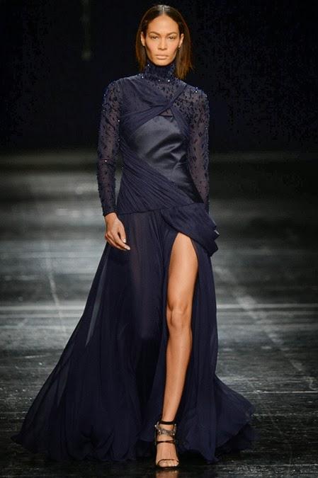 prabal gurung, new york fashion week, nyfw, runway, fashion show, joan smalls
