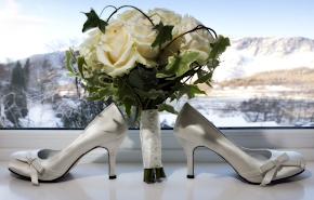 Vintage Bow - Ivory Bridal Shoes