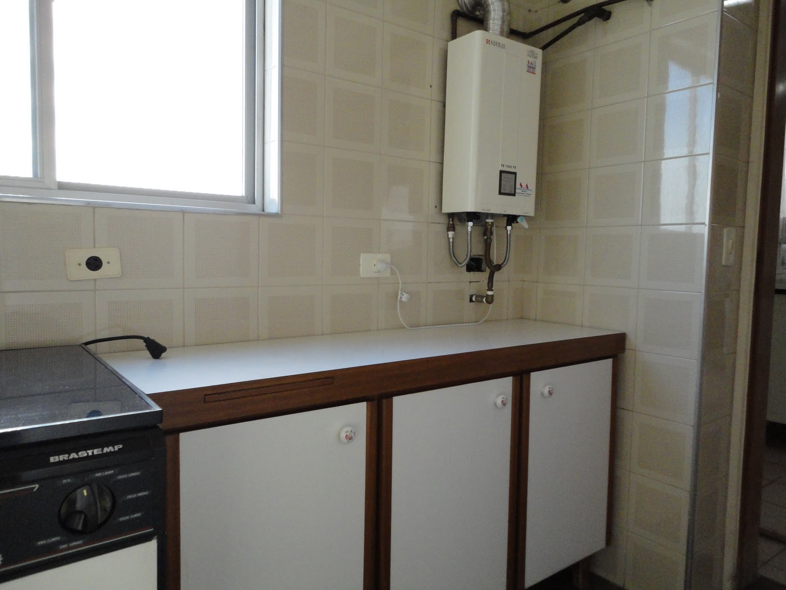 Apartamento Alto da Lapa LAVANDERIA -> Armario Banheiro Alto