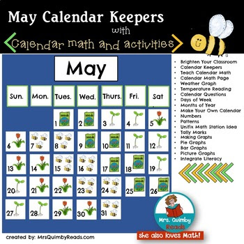 Calendar Keepers for May
