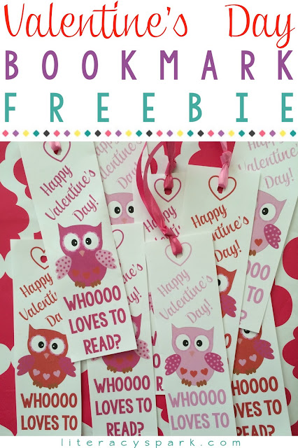 Need a valentine idea for your students or classmates?  Check out these FREE printable Valentine's Day bookmarks.  These are the perfect non candy treat!  Just print and add ribbon.