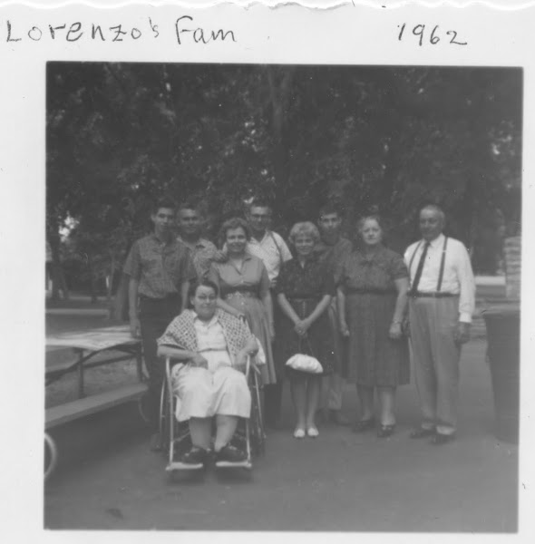 1962   Reunion  Lorenzo's Family