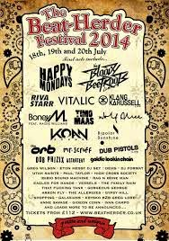 Beat-Herder festival 2014 new Acts