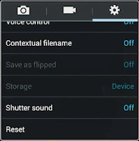 disable camera shutter sound in galaxy note 3