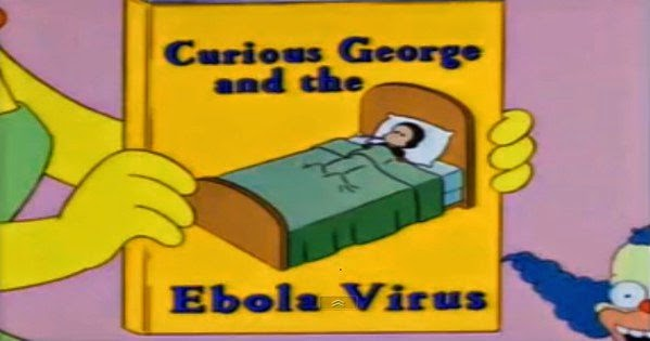 Predictive programming: The Simpsons Predict The Ebola Outbreak