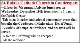 12-19 7th Annual Advent Luncheon