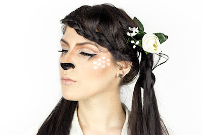 fawn/deer makeup tutorial