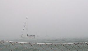 Big Squall at Key West moorings!