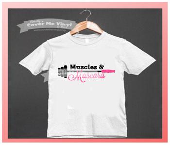 Muscles & Mascara Wand Shirt