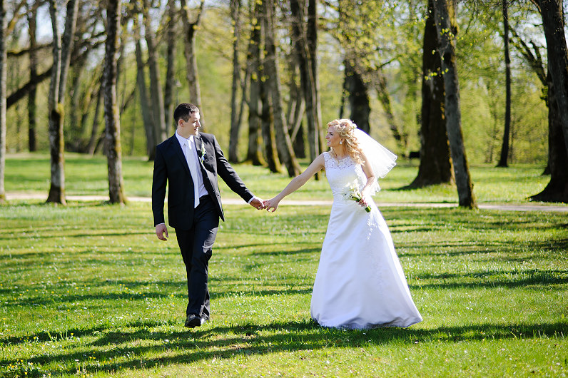 vestuvių fotosesija Plungėje