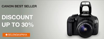 Kamera DSLR Merek Canon
