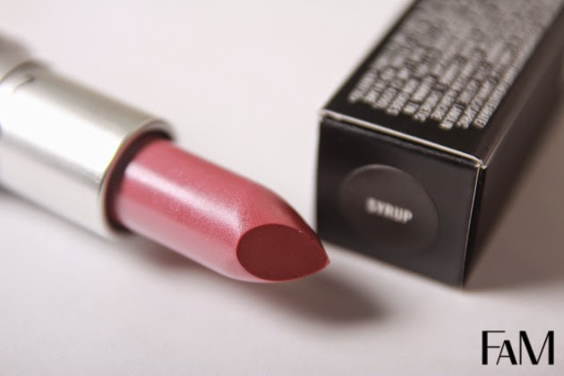 Mac Syrup lipstick Review, Swatches and Demo