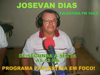 PALESTINA EM FOCO 104,9 PALESTINA FM