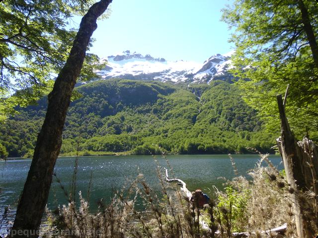Laguna Lahuan, Refugio Laguitos, El Bolsón, sendero,