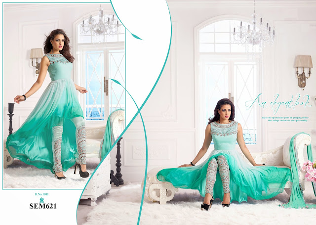 Buy Heavy Designer Embroidery Anarkali Suit