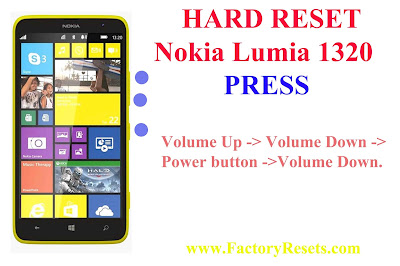 Hard Reset Nokia 1320