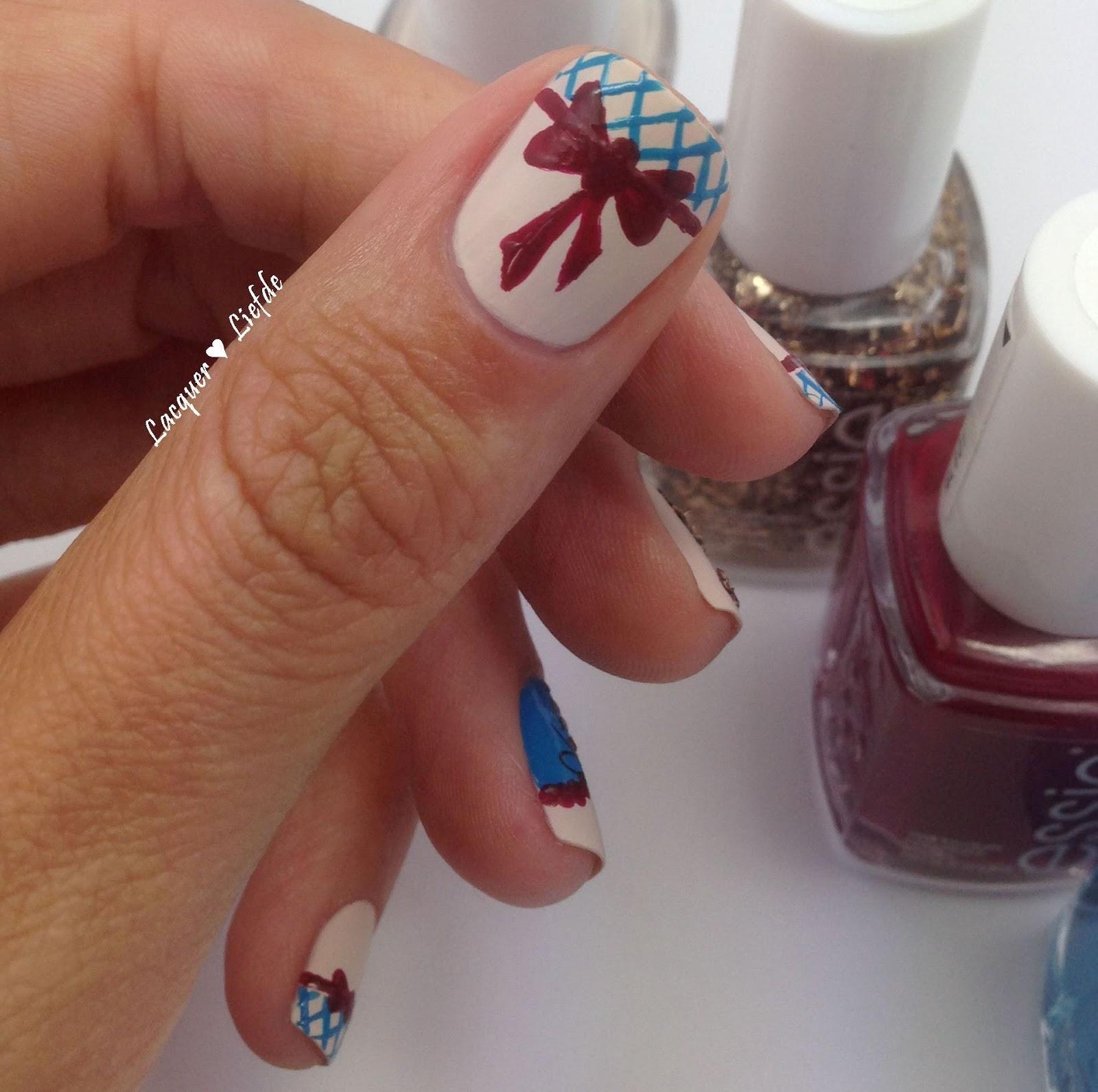 Lacquer ❤ Liefde: Oktoberfest Nail Design No.1