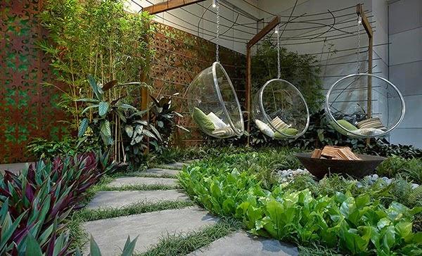 Desain Taman Minimalis di Rumah