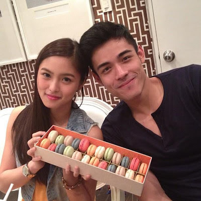 xian lim gives flowers and letters to bea binene and kim chiu