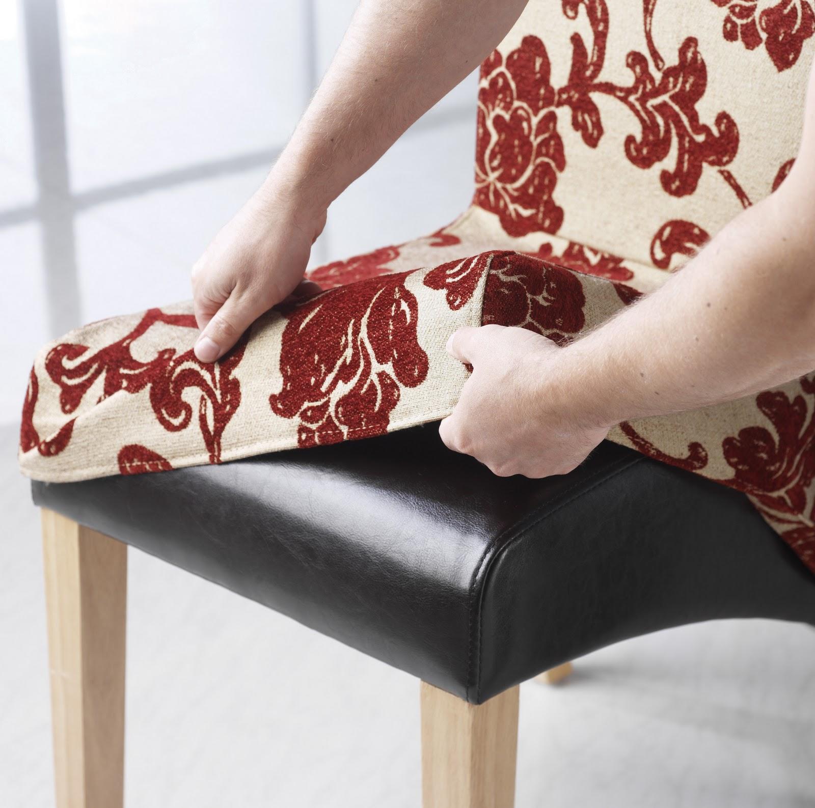 Fundas de sillas y comedor nuevo interiores por for Fundas para sillas comedor