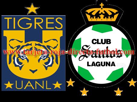 CopaMexico, tigres, Santos, Rojadirecta