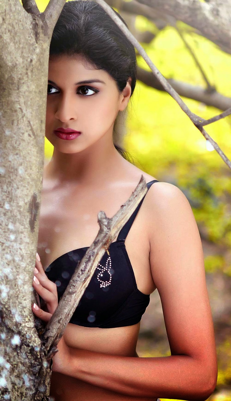 Naveena Hot Photos In Bra from Ice Cream 2 Movie