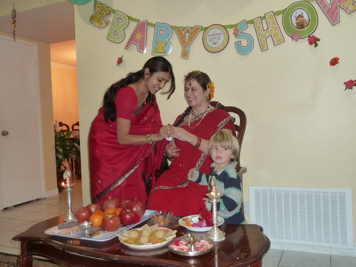 my surprise indian baby shower