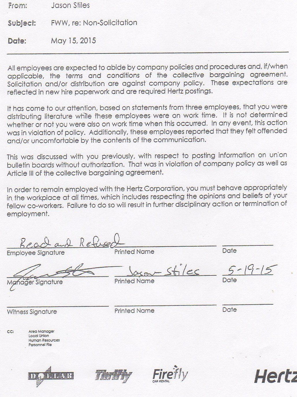 Iam447 union corruption needless to say this internal investigation was nothing but a joke and designed to protect the union representative motisi and to cover up his intimidation falaconquin
