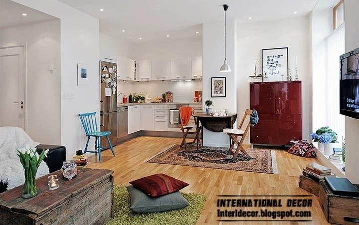 Scandinavian kitchen style, interior kitchen Scandinavian style