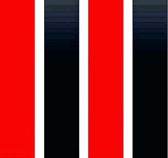 As Cores - Vermelho, Branco e Preto