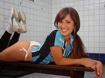 Musa do Grêmio - Caroline Alves