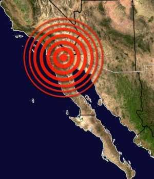 sismo 6 grdos baja California, Mexico