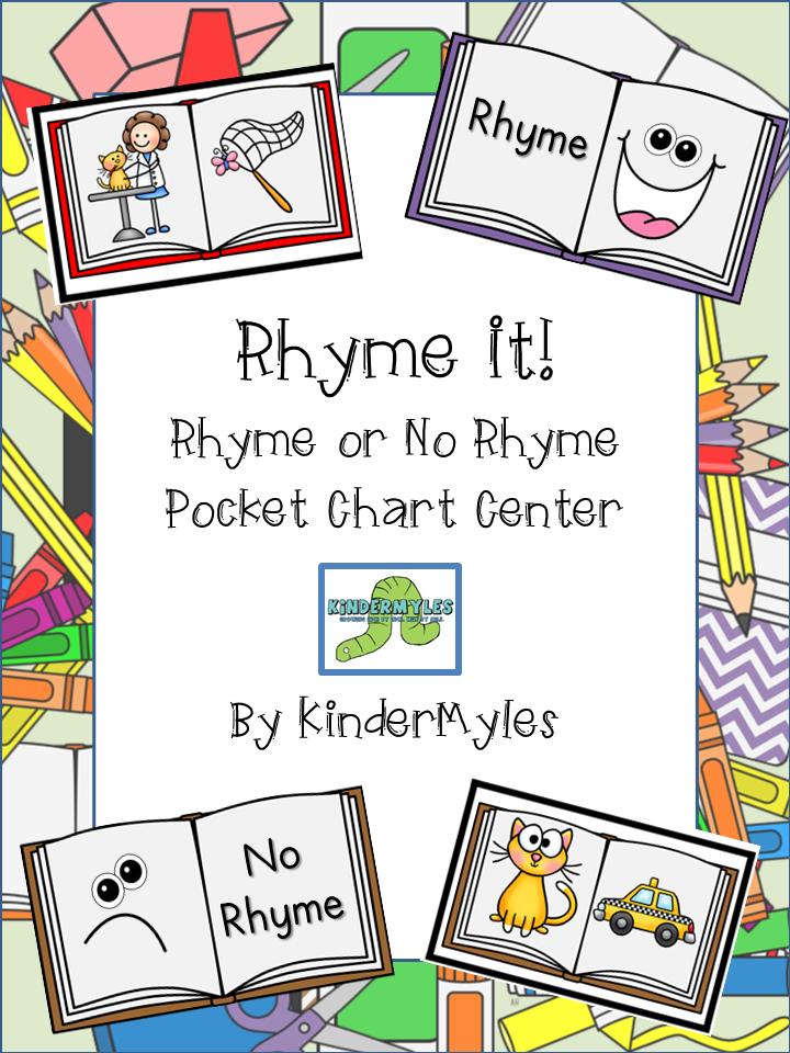 http://www.teacherspayteachers.com/Product/Rhyme-It-Rhyme-or-No-Pocket-Chart-Center-763148
