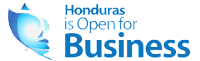 Logo de Honduras open for business