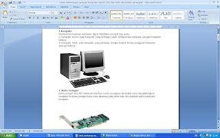 Makalah komponen perangkat internet kelas x semester 2